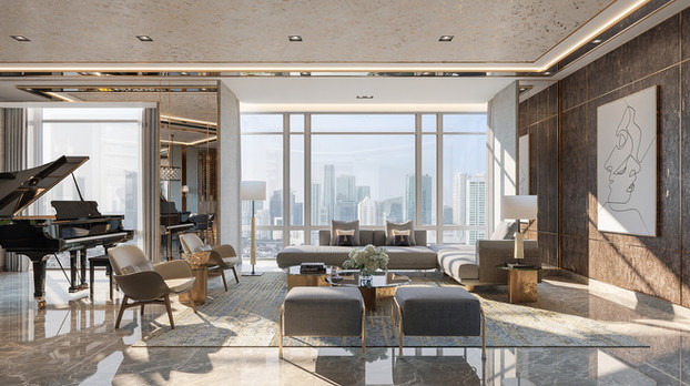 Four Seasons Residences - Jakarta / Reco RE & Axis ID Pte Ltd