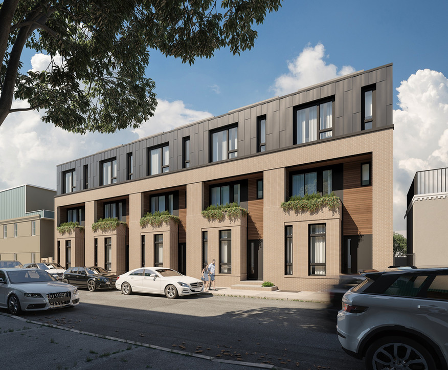 Cumberland St. Housing - Philadelphia / Gnome Architects & Zatos Investment