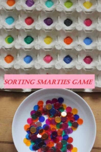 sorting smarties game