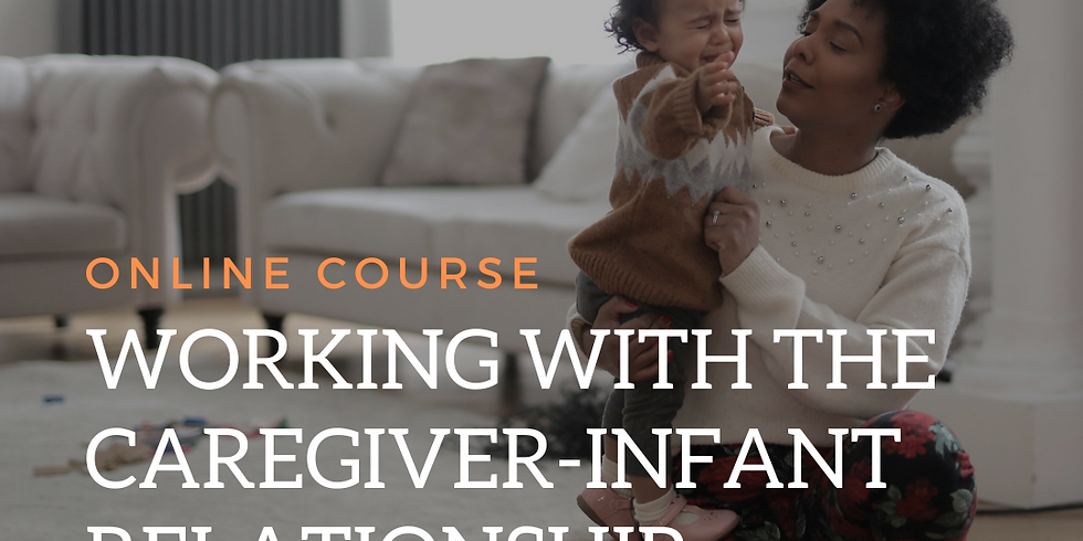 Working with the Caregiver Infant Relationship