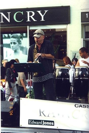 Igor Babich, Toronto saxophonist