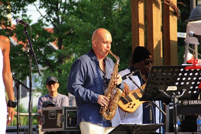 Igor at the Blue Mountain Jazz Fest
