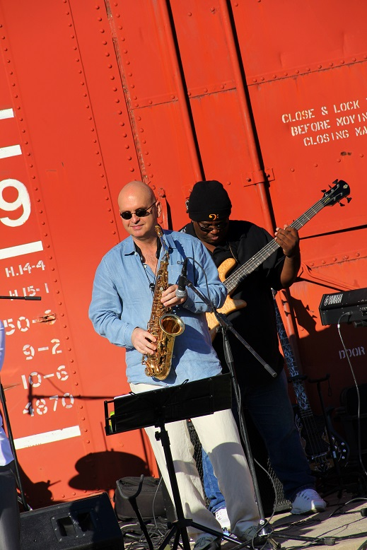 Igor Babich at Jazz At The Station