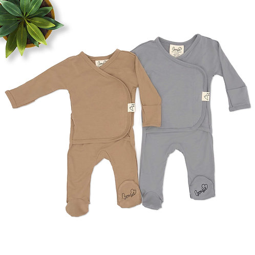 Baby Bundle - Mocha & Fog Twin Pack