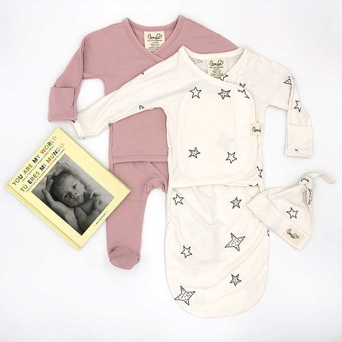 Gift Pack - Peony Footie, Star Bag Set with Book (SPANISH)
