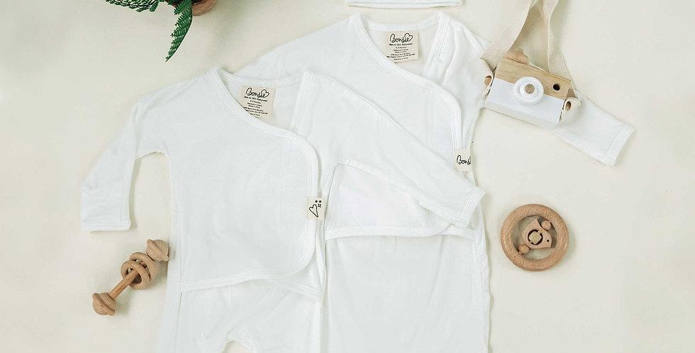 Baby Bundle - Milk Footie & Milk Bag Set Twin Pack