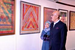 Artists Art Fair Malaysia 2014 was officiated by Encik Haned bin Masjak,  the then Director-General