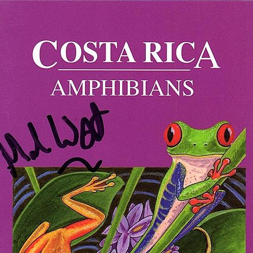 Costa Rica Amphibians Wildlife Guide