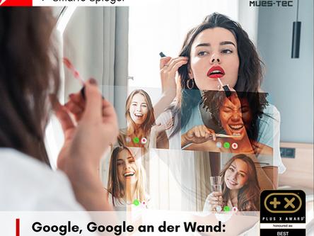 Google, Google an der Wand: Was ziehe ich heute Abend an? 🧐 Mues-Tec Smart Spiegel im STERN! ⭐️