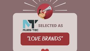 """Love is in the air - Ausgezeichnet mit dem """"Love Brands""""- Award"""