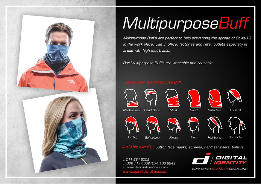 DI Mailers April 2020 Multi Purpose Buff