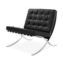 0-LXBSW - Barcelona Single Seat - Black.