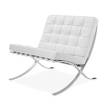 0-LXBSW - Barcelona Single Seat - White.