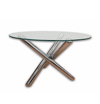 0-TCRG - Riviera Glass Coffee Table - Ch