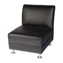 LSSB - Armless Single Sofa - Black.png