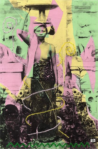 Bali Collage Culture Exhibition Tracing Culture
