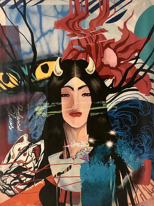 Kitsune-Gao, Persona (2021)