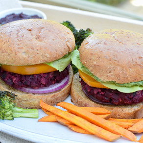 Best-Ever Beet Burgers