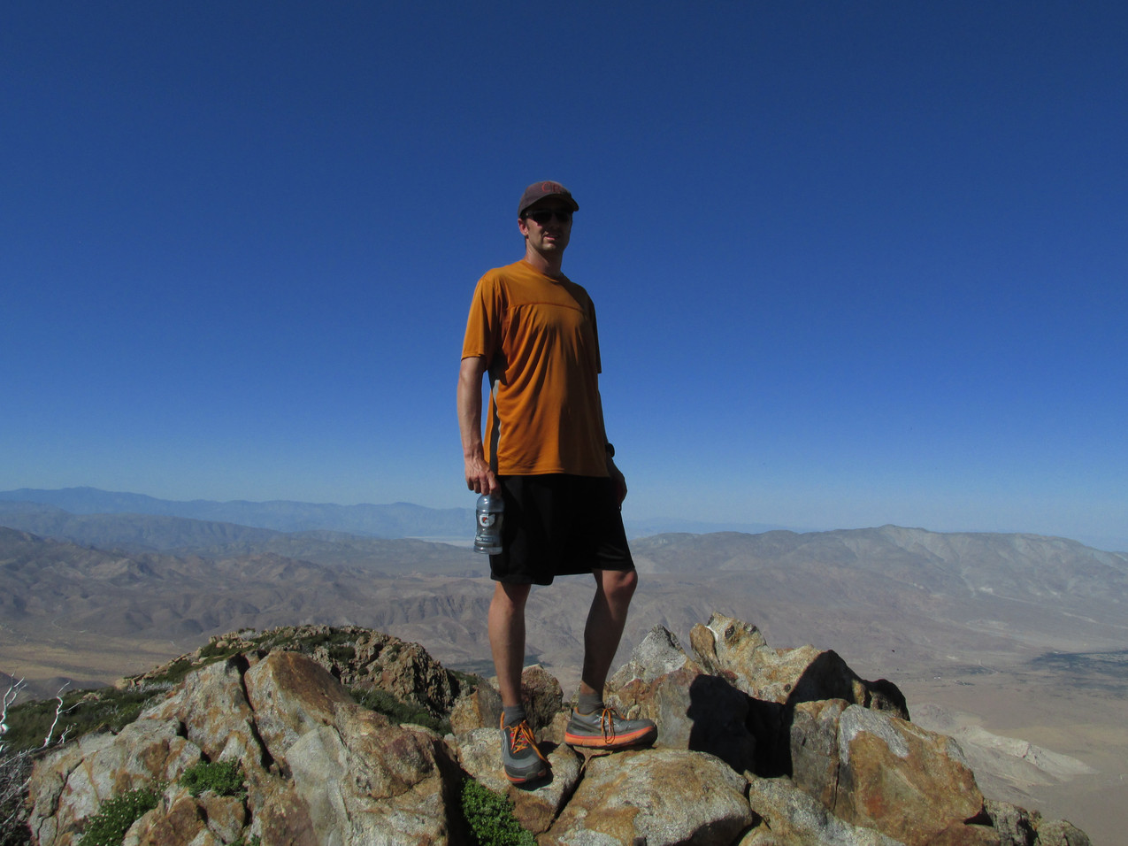 I took a side trip to the top of Garnet Peak.
