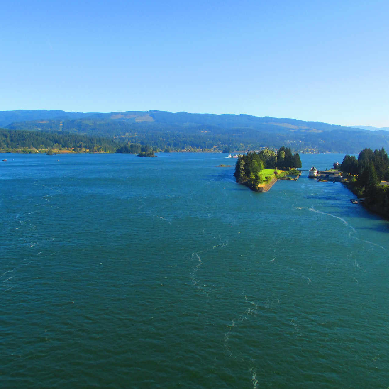 I looked forward to hiking across the Bridge of the Gods and seeing the Columbia River for a while.