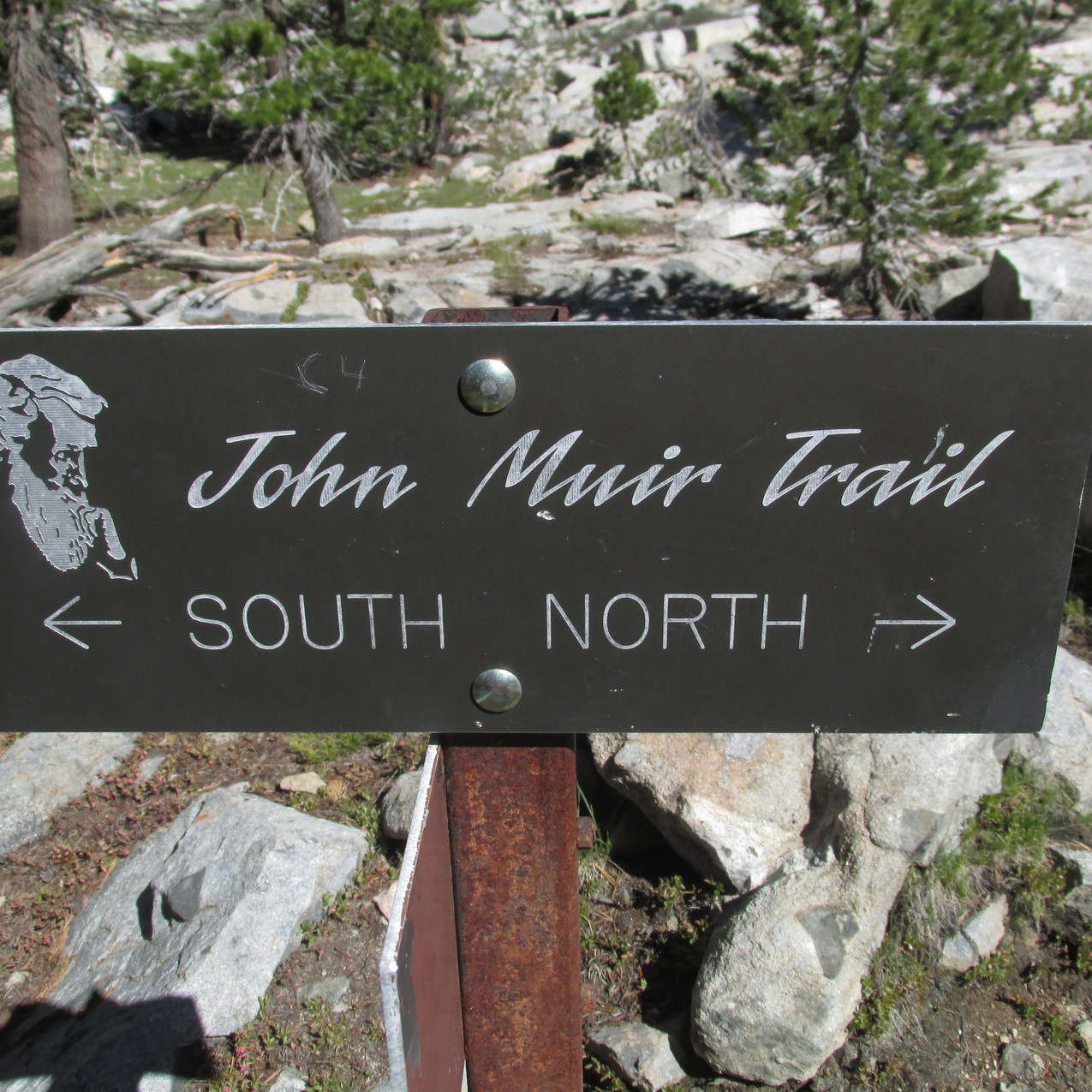 The John Muir Trail and PCT mostly share the same trail.  I hiked every step of the JMT even when that meant deviating from the PCT.