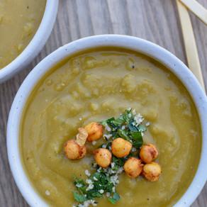 Comforting Split Pea Soup