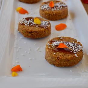 Raw Mini Carrot Cakes