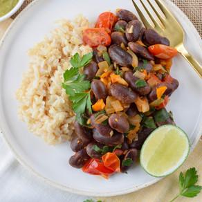 Scarlett Runner Beans & Rice