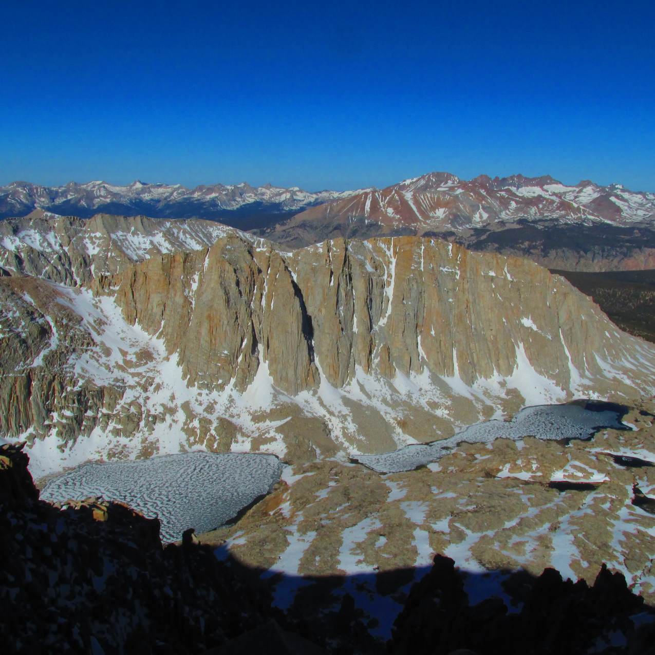 Views like this made the hike to the top of Mt. Whitney even better.