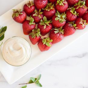 Strawberries and Vanilla Cream