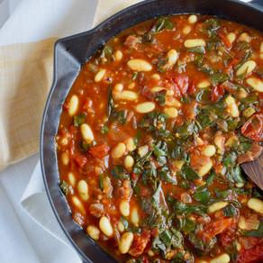 White Bean & Tomato Curry