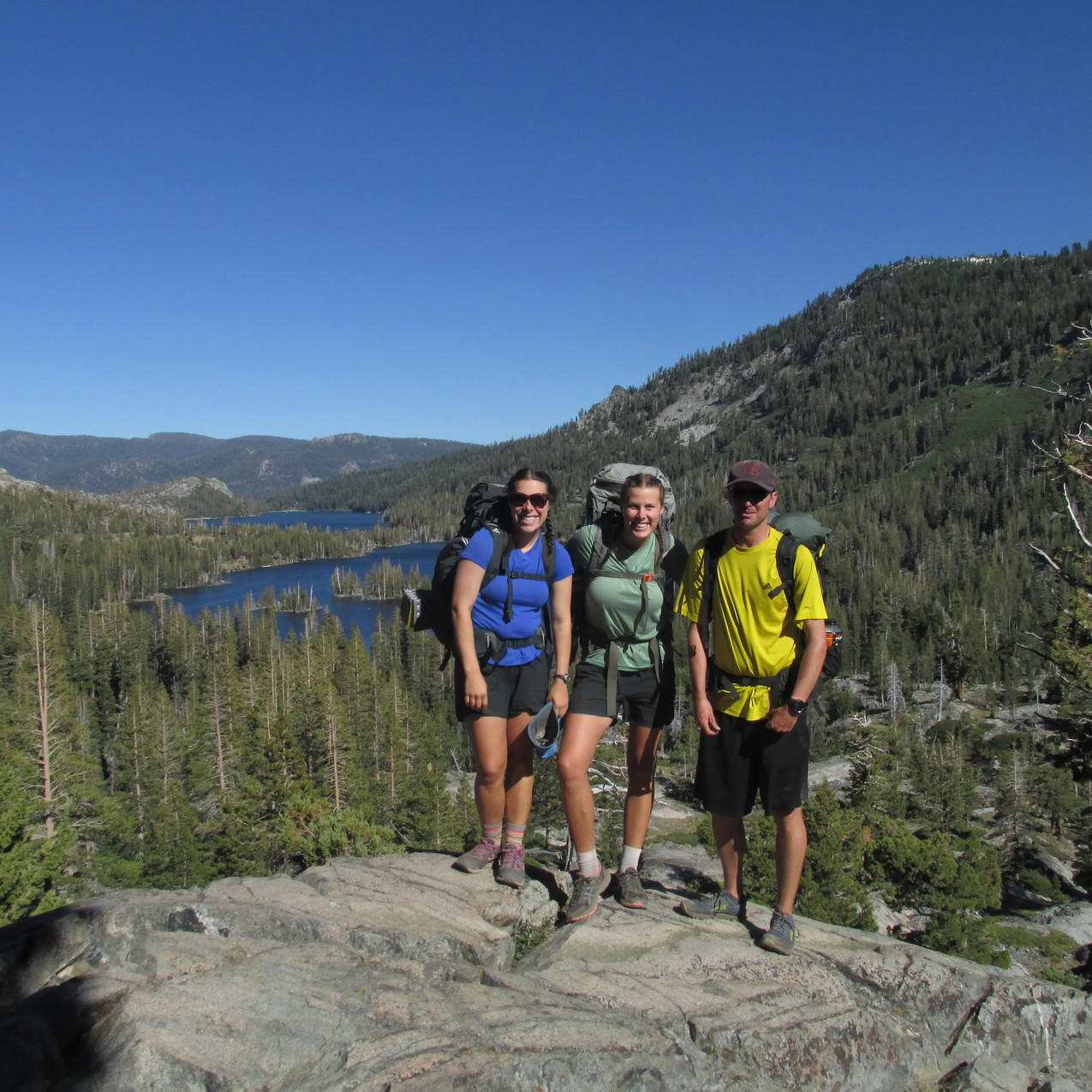 Two of my favorite people I met on trail: Rat and Ant.  I met them shortly after Kennedy Meadows and got to hike with them for a little over a day out of South Lake Tahoe.