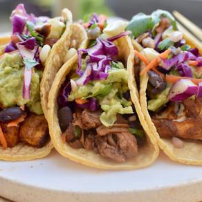 Vegan Tacos Three Ways
