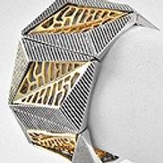 Dual Metal Stretch Bracelet
