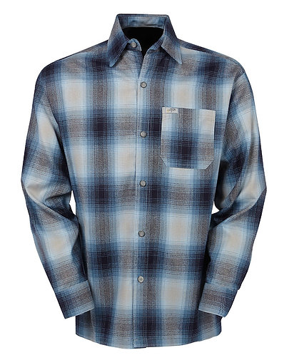Sky Blue Flannel Long Sleeve Shirt
