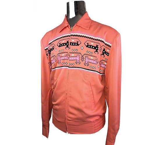 Swankys Vintage Dragons Ricky Creamsicle Jacket