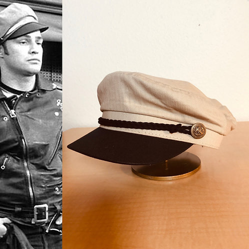 Swankys Brando Motorcycle Hat