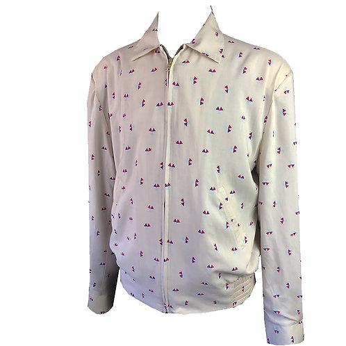 Swankys Vintage Atomic Geo Rayon Jacket