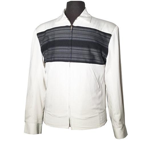 "Swankys Vintage ""Sportsman"" White Ricky Jacket"
