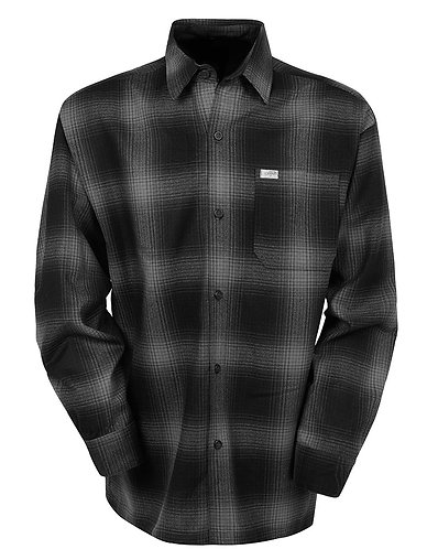Charcoal Flannel Long Sleeve Shirt