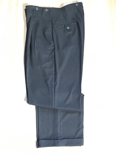 Swankys Vintage Dark Charcoal Rayon Pants