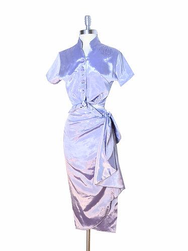 Swankys Vintage Lavender 2pc Tiki Sarong