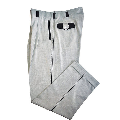 Swankys Vintage  Grey two tone style Pants