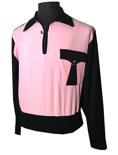 "Swankys VTG Pullover Gaucho ""Black & Pink"""