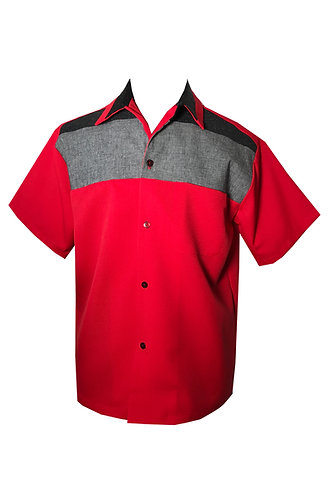 Swankys Vintage Red Haley Shirt