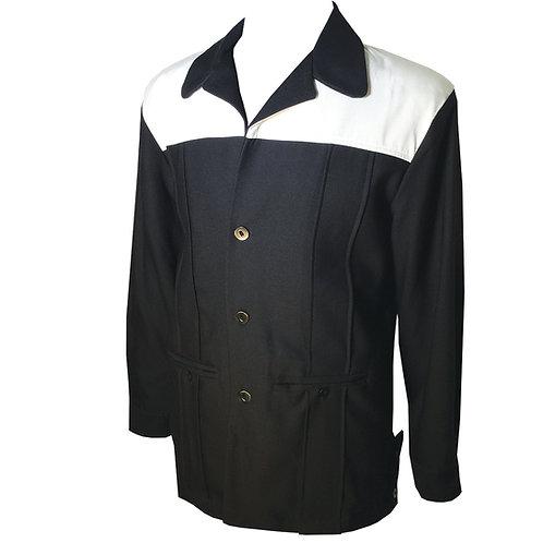 Swankys Vintage Black & White 2-tone Hollywood Jacket
