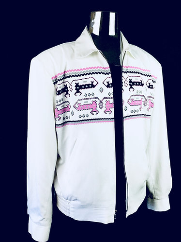 Swankys Vintage Dragons Ricky White Jacket