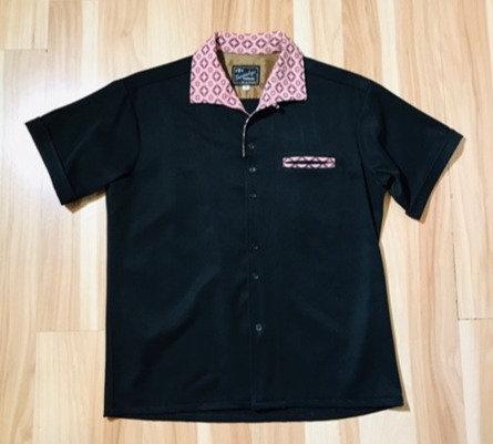 Swanky Rayon Black Camp Shirt