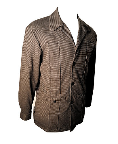Swankys Vintage Brown Leisure Hollywood Jacket