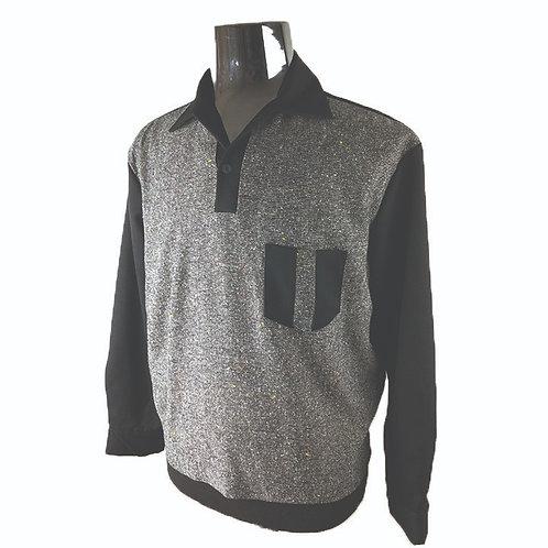 Swankys Vintage Black/Grey Pullover